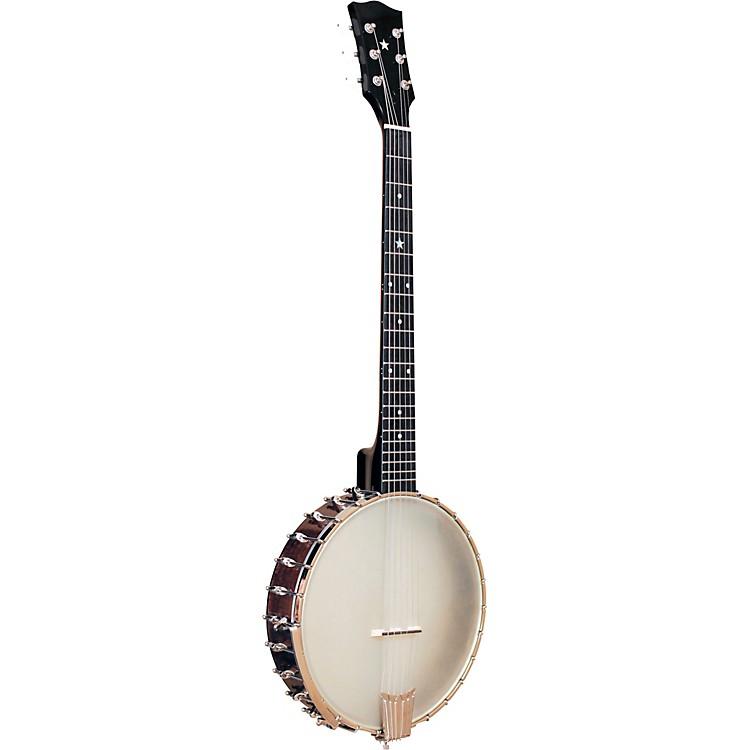 Gold ToneLeft-Handed 6-String Banjo GuitarVintage Brown