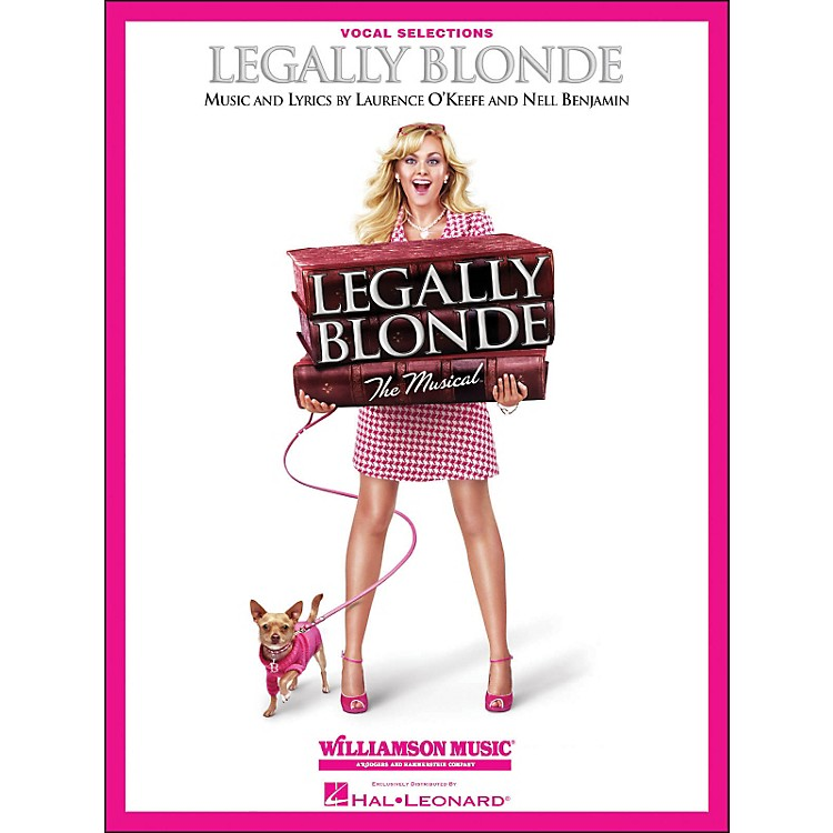Hal Leonard Legally Blonde Vocal Selections (Vocal with Piano Accompaniment)