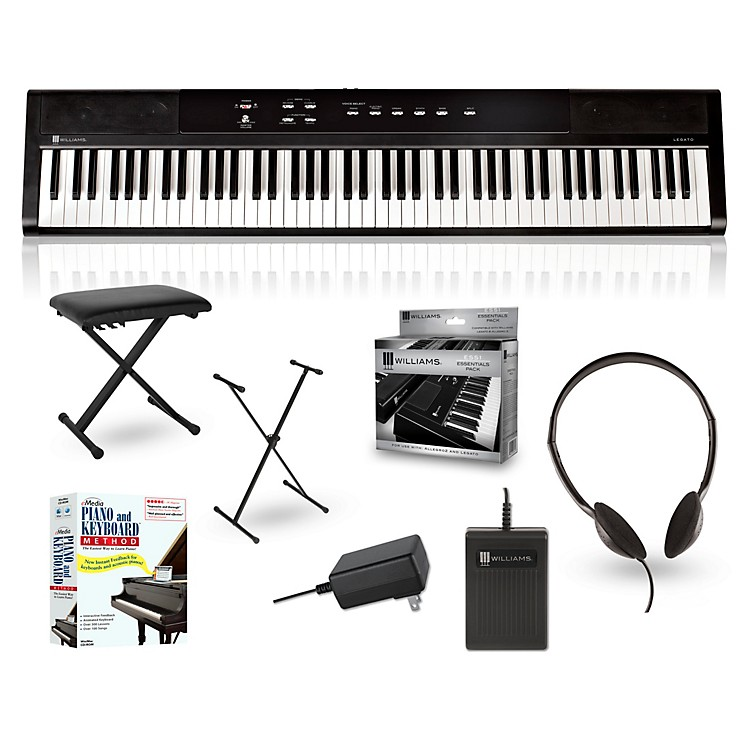 williams legato 88 key digital piano packages music123. Black Bedroom Furniture Sets. Home Design Ideas