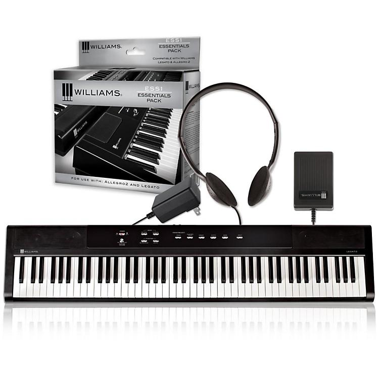 WilliamsLegato Digital Piano with ESS1 Essentials Pack