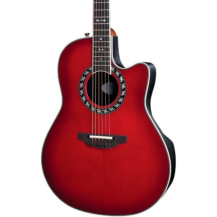 OvationLegend 2077 AX Deep Contour Acoustic-Electric GuitarCherry Cherry Burst