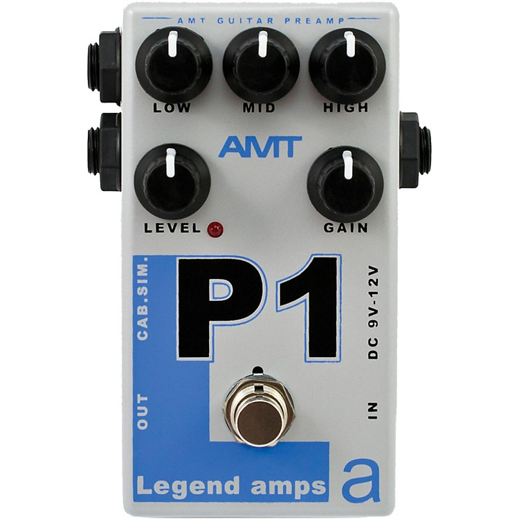 AMT ElectronicsLegend Amps Series P1 Distortion Guitar Effects Pedal