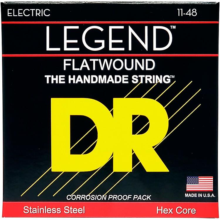 DR StringsLegend Extra Life Flatwound Electric Guitar Strings