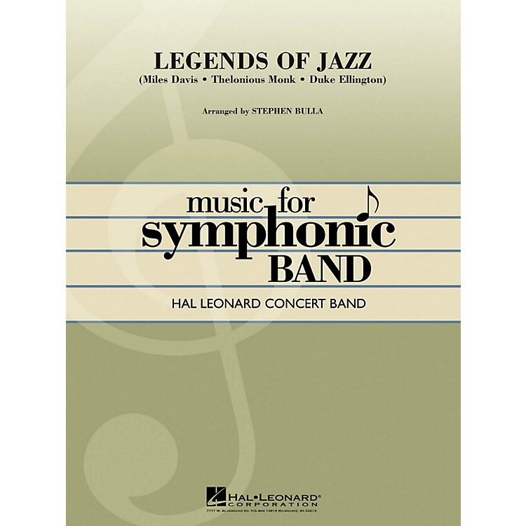 Hal LeonardLegends Of Jazz - Hal Leonard Concert Band Series Level 4