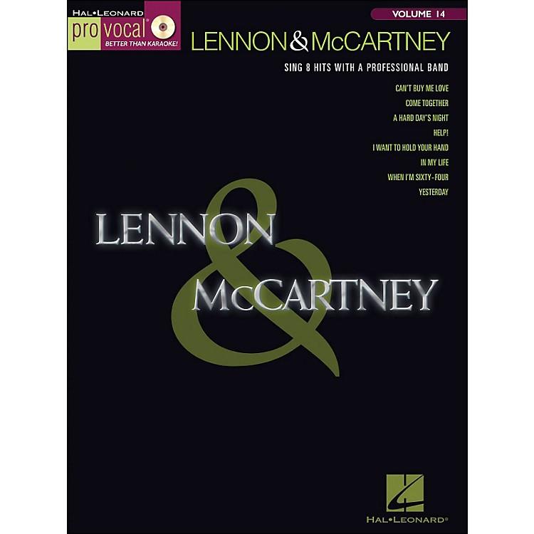 Hal LeonardLennon & McCartney - Pro Vocal Songbook & CD Volume 14