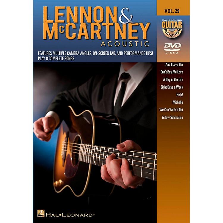 Hal LeonardLennon & McCartney Acoustic - Guitar Play-Along DVD Volume 29