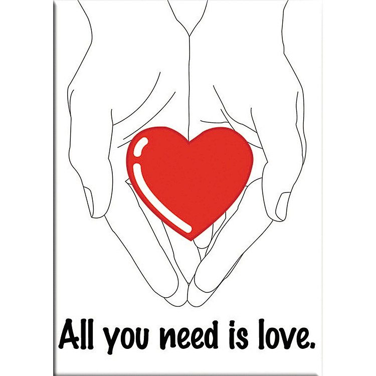 C&D VisionaryLennon & McCartney All You Need Is Love Magnet