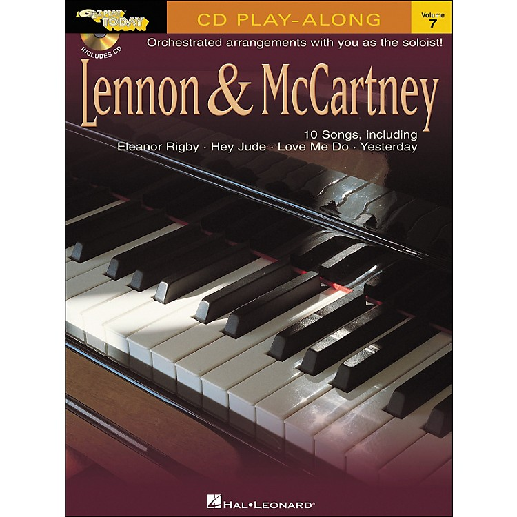 Hal Leonard Lennon & McCartney E-Z Play Today Play-Along Volume 7 Book/CD