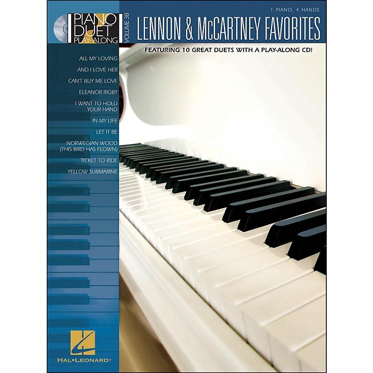 Hal LeonardLennon & McCartney Favorites - Piano Duet Play-Along Volume 38 (Book/CD)