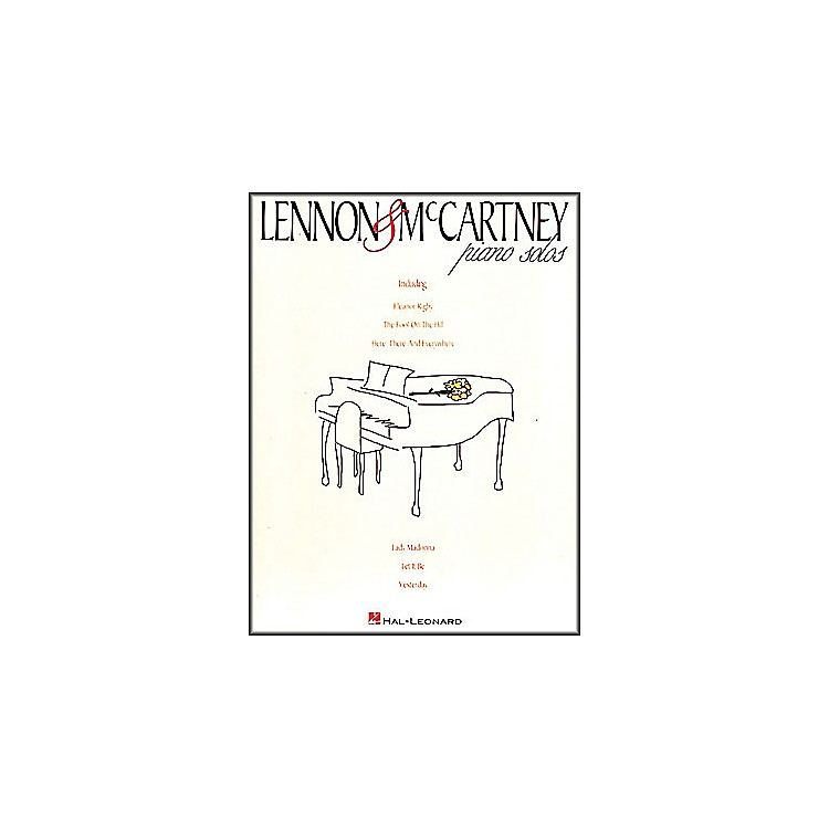 Hal Leonard Lennon & McCartney Piano Solos