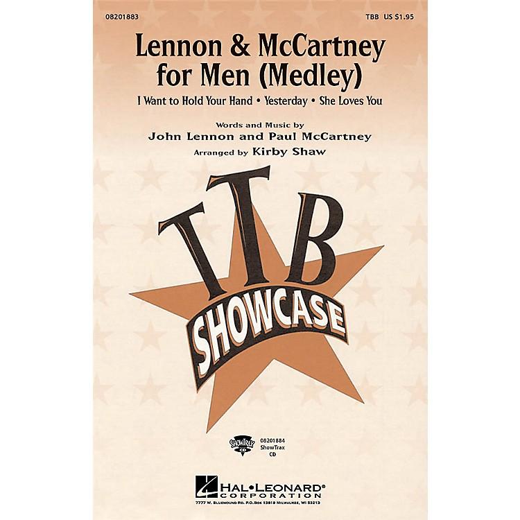 Hal LeonardLennon & McCartney for Men (Medley) TTB arranged by Kirby Shaw