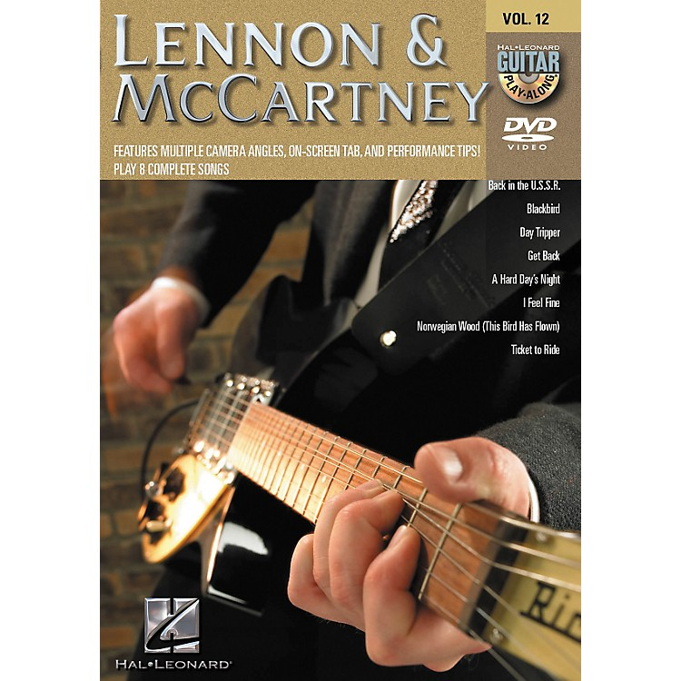 Hal Leonard Lennon & Mccartney - Guitar Play-Along DVD Volume 12