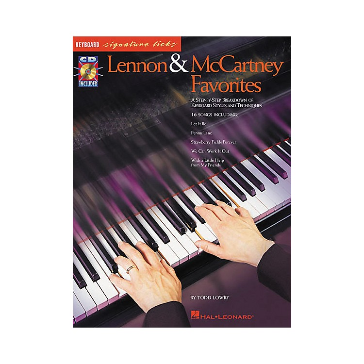 Hal Leonard Lennon and McCartney Favorites (Book/CD)