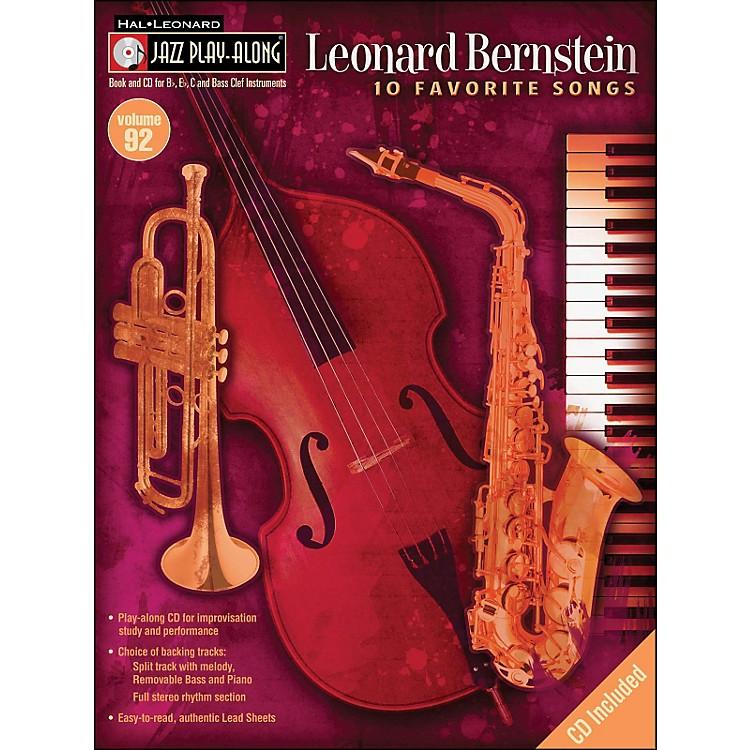 Hal LeonardLeonard Bernstein Jazz Play-Along Volume 92 Book/CD