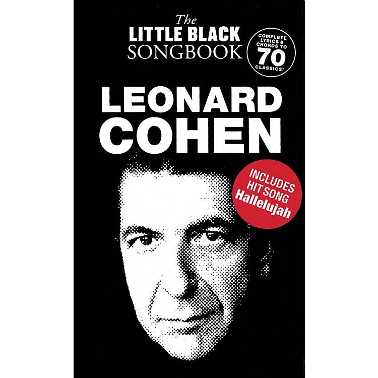 Music SalesLeonard Cohen - The Little Black Songbook The Little Black Songbook Series Softcover by Leonard Cohen