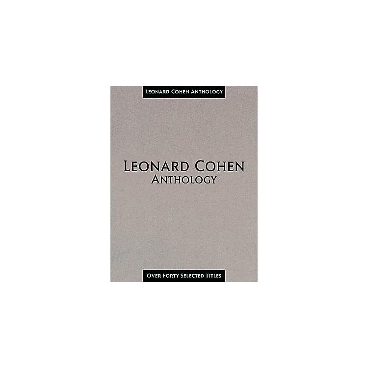 Hal LeonardLeonard Cohen Anthology Composer Collection Book