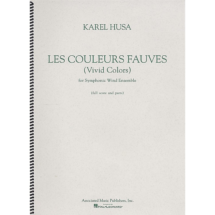 AssociatedLes Couleurs Fauves (Vivid Colors) G. Schirmer Band/Orchestra Series by Karel Husa