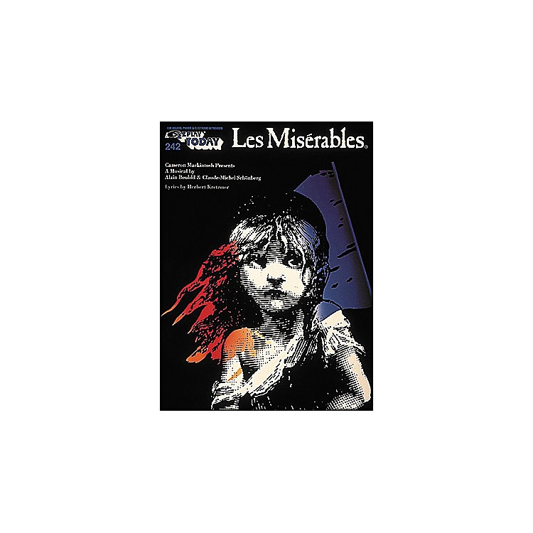 Hal LeonardLes Miserables E-Z Play 242