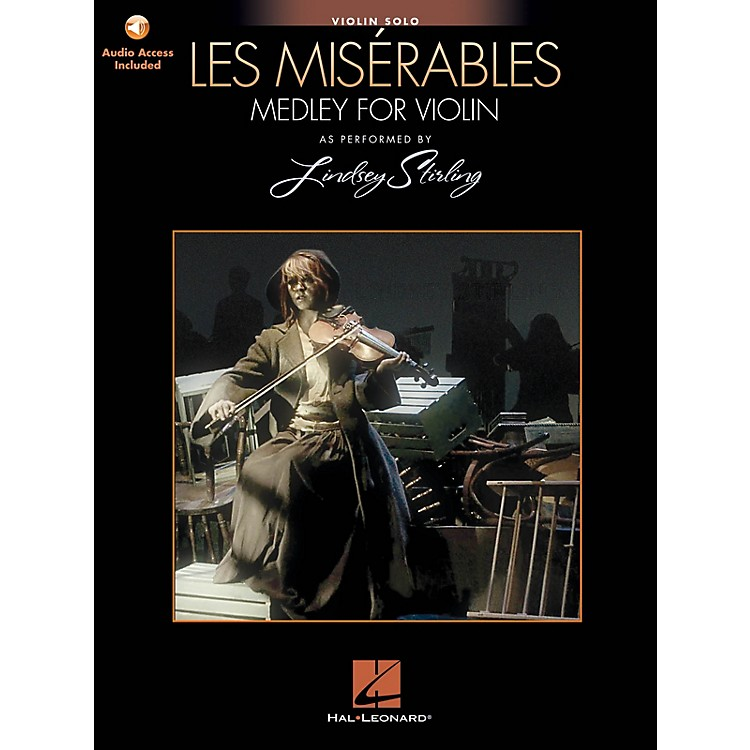 Hal Leonard Les Miserables (Medley for Violin Solo) Violin Series Softcover Audio Online by Lindsey Stirling