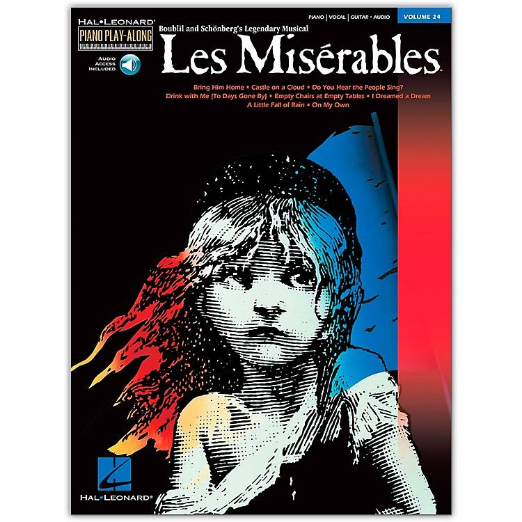 Hal LeonardLes Miserables Volume 24  Piano Play-Along (Book/Online Audio)