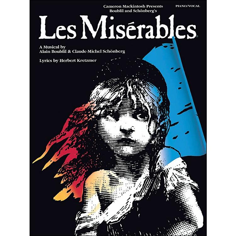 Hal LeonardLes Miserables arranged for piano, vocal, and guitar (P/V/G)