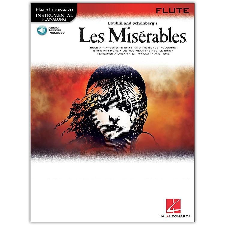 Hal LeonardLes Miserables for Flute - Instrumental Book/Online Audio
