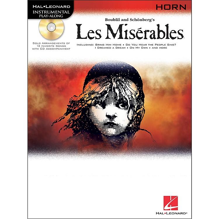Hal LeonardLes Miserables for French Horn - Instrumental Play-Along Book/CD Pkg