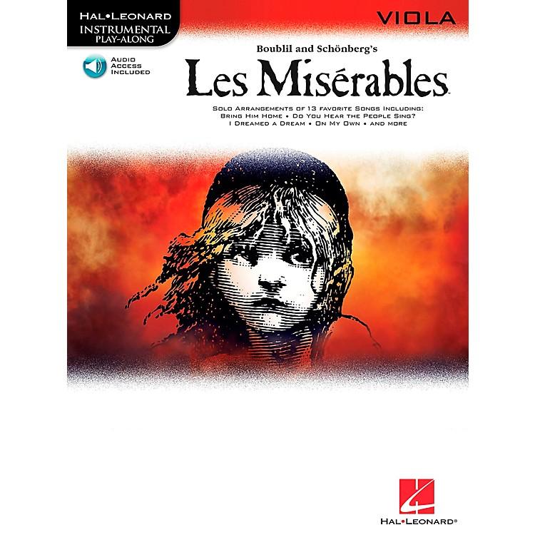Hal LeonardLes Miserables for Viola - Instrumental Play-Along Book/CD