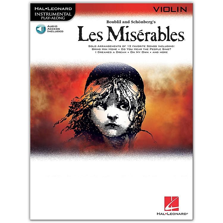 Hal LeonardLes Miserables for Violin - Instrumental Play-Along Book/CD
