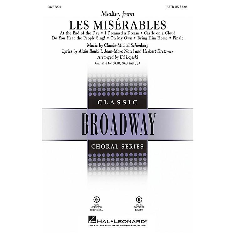 Hal LeonardLes Misérables (Choral Medley) Digital Instrumental Pak Rhyth Arranged by Ed Lojeski