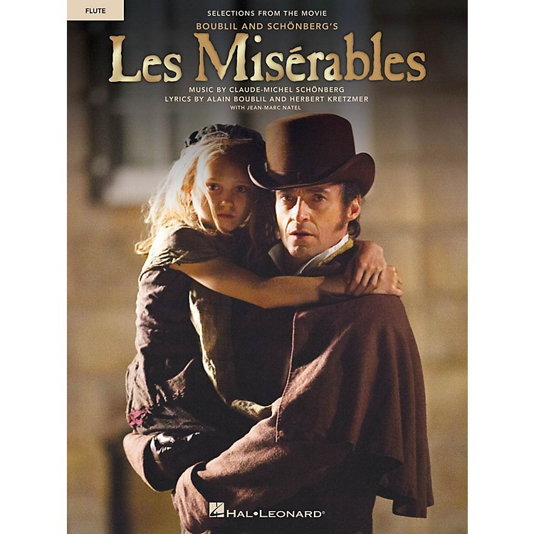 Hal Leonard Les Misrables  Instrumental Solos from the Movie for Flute