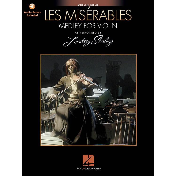 Hal LeonardLes Misérables (Medley for Violin Solo) Violin Series Softcover Audio Online by Lindsey Stirling