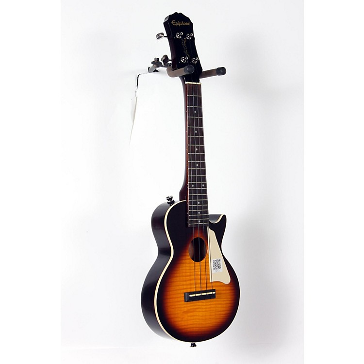EpiphoneLes Paul Acoustic-Electric Concert Ukulele OutfitVintage Sunburst888365918617