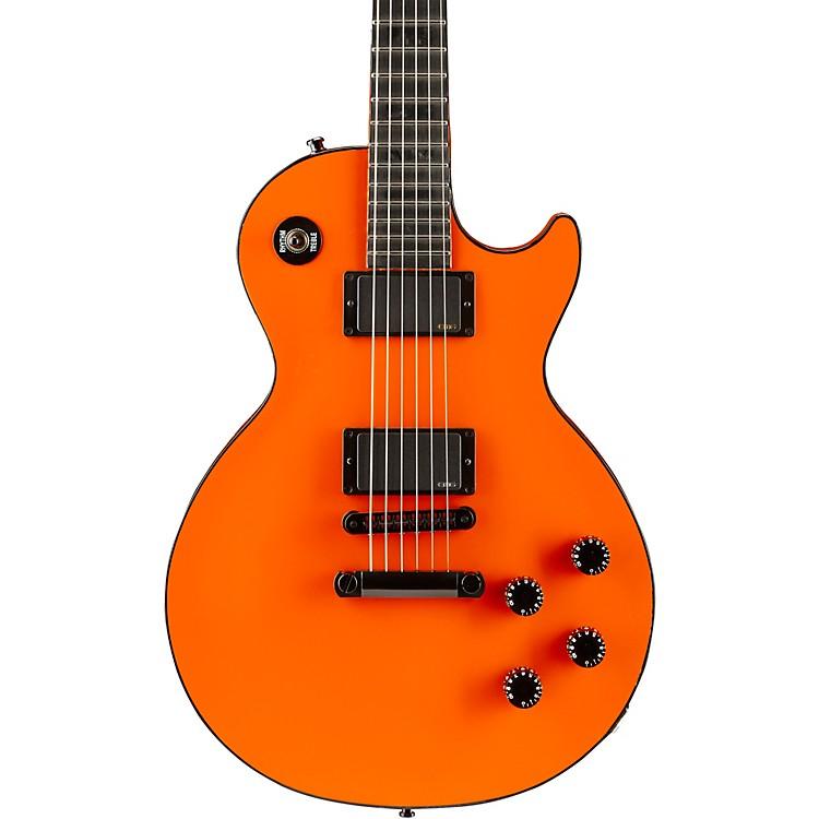 Gibson CustomLes Paul Custom Chambered Blackout Electric GuitarF1 Orange