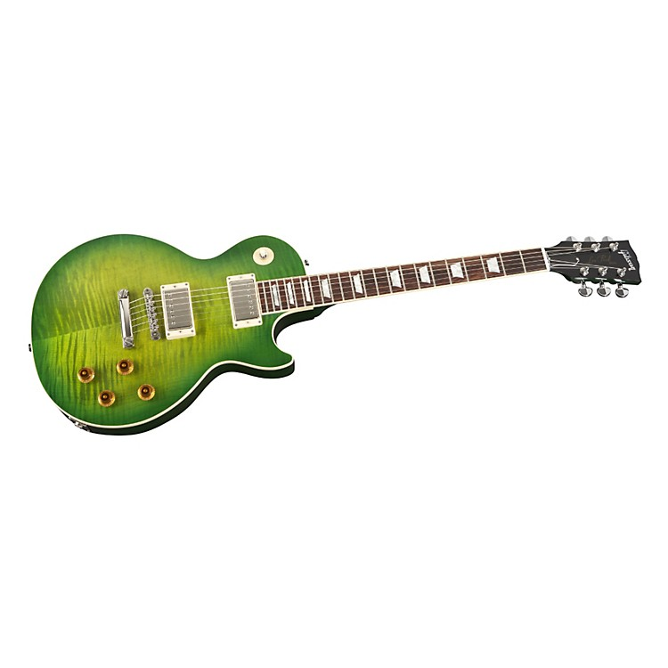 Gibson Custom Les Paul Custom Pro Electric Guitar with AA Maple Top Iguana Burst