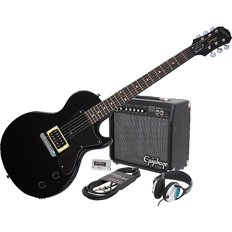 Epiphone Les Paul Junior and All Access Amp Pack