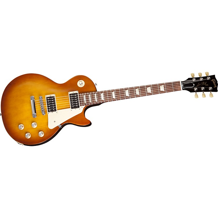 Gibson Les Paul Studio 50's Tribute Electric Guitar with Humbucker Pickups Satin Gold Top 886830663451