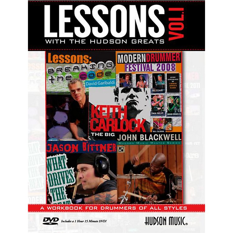 Hudson MusicLessons with the Hudson Greats Book/DVD Vol. 1