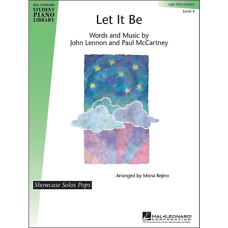 Hal LeonardLet It Be - Showcase Solos Level 4 Hal Leonard Student Piano Library by Mona Rejino