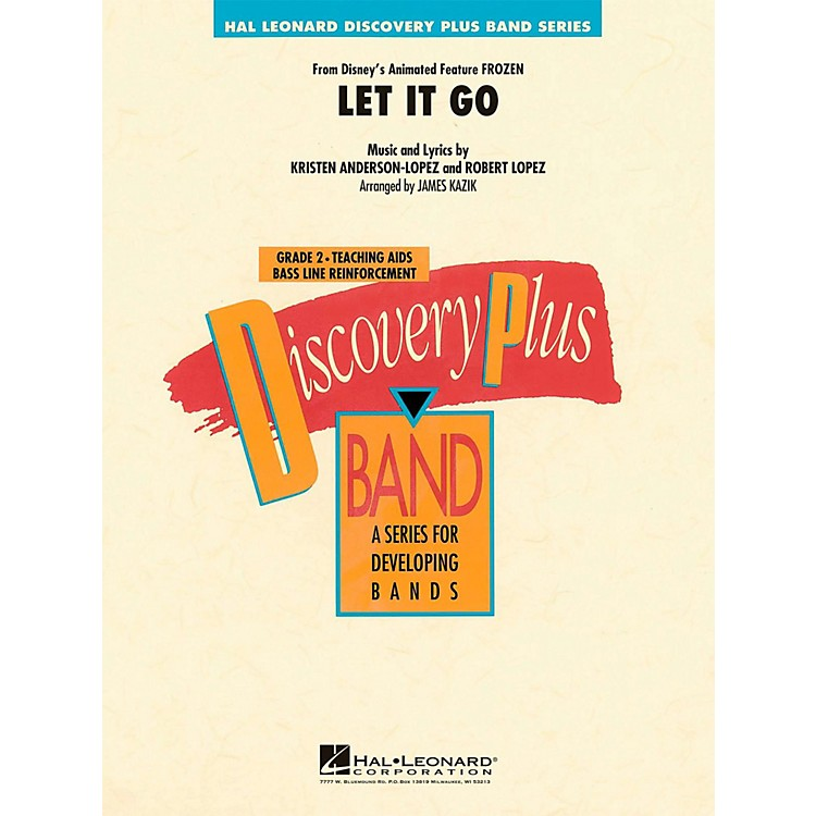 Hal Leonard Let It Go (From Frozen) Discovery Plus Concert Band Grade 2
