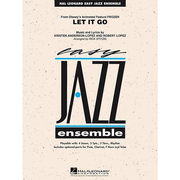 Hal LeonardLet It Go (From Frozen) Easy Jazz Ensemble Series Level 2