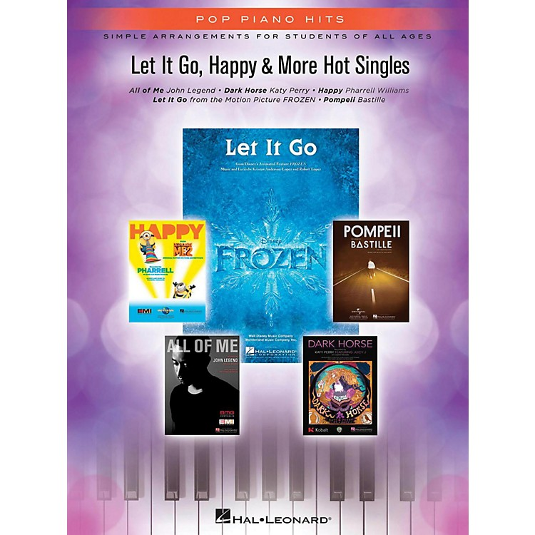 Hal Leonard Let It Go, Happy & More Hot Singles for Piano