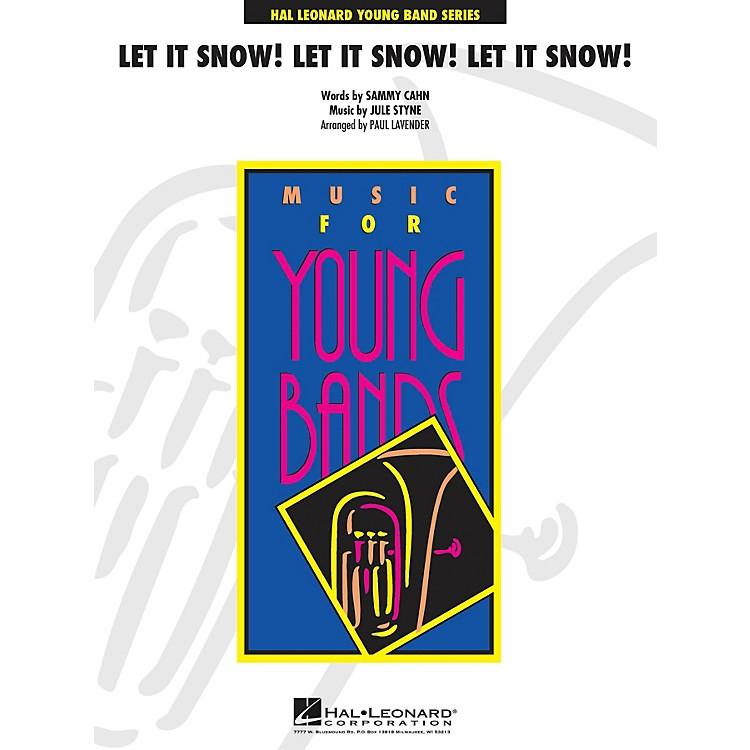 Cherry LaneLet It Snow! Let It Snow! Let It Snow! - Young Concert Band Level 3 arranged by Paul Lavender