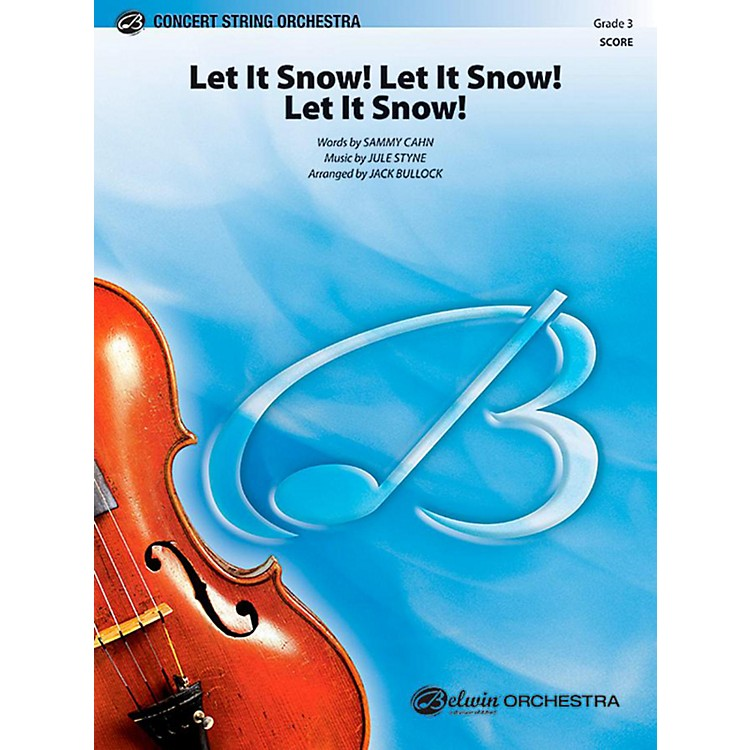 Alfred Let It Snow! Let It Snow! Let It Snow! String Orchestra Level 3 Set