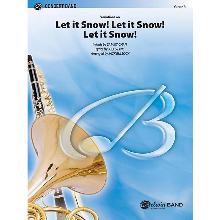 AlfredLet It Snow! Let It Snow! Let It Snow!, Variations on Concert Band Grade 3 Set