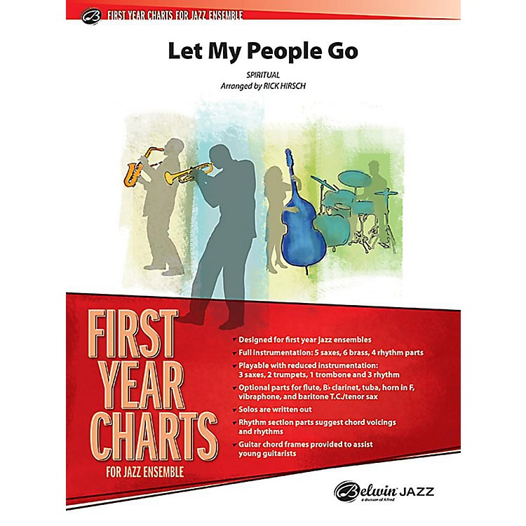 Alfred Let My People Go Jazz Band Grade 1 Set