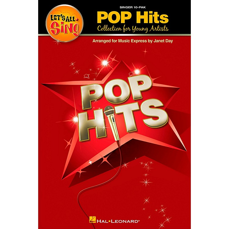 Hal LeonardLet's All Sing Pop Hits - Collection for Young Voices 10 Pak
