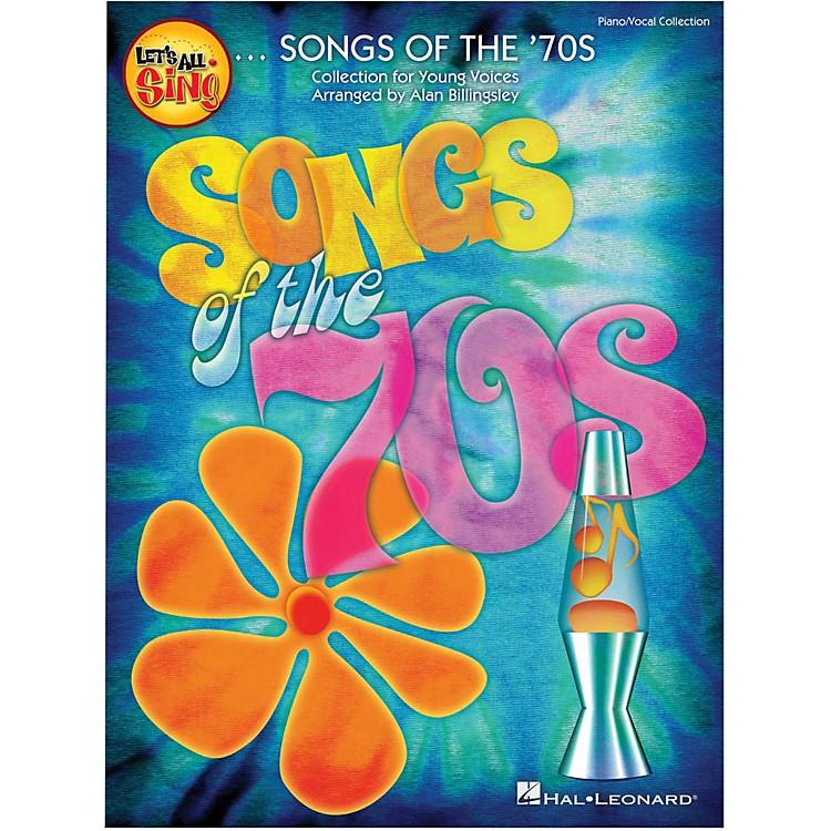 Hal LeonardLet's All Sing Songs Of The '70s Singer Edition 10-Pak