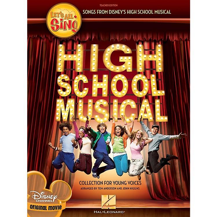 Hal LeonardLet's All Sing Songs from Disney's High School Musical Performance/Accompaniment CD by John Higgins