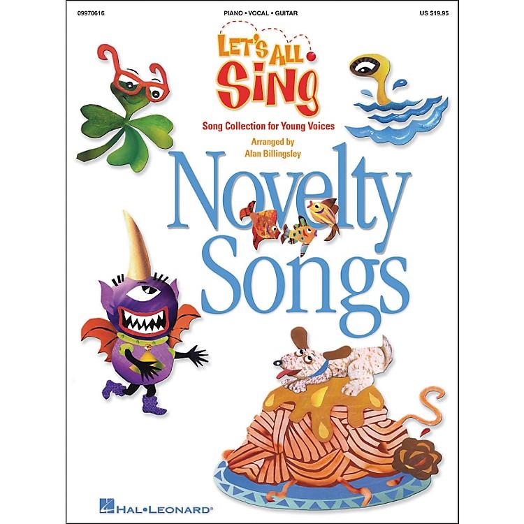 Hal LeonardLet's All Sing...Novelty SongsPerformance/Accompaniment Cd
